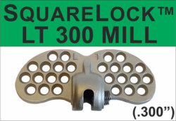 Square Lock 300 Mill Finish