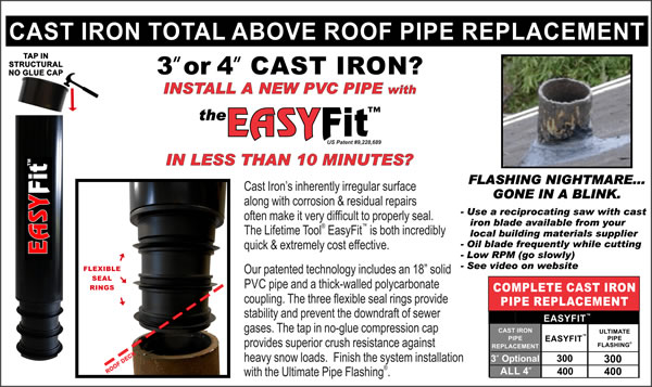 Products Ultimate Pipe Flashing 174