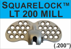 Square Lock 200 Mill Finish