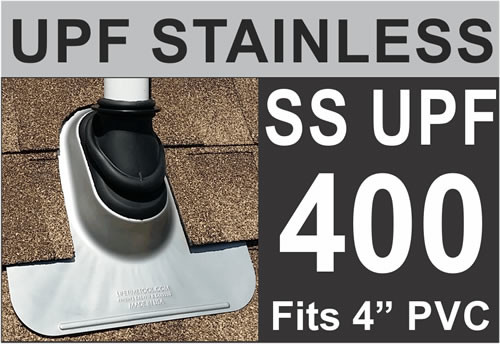 Stainless Steel Ultimate Pipe Flashing®
